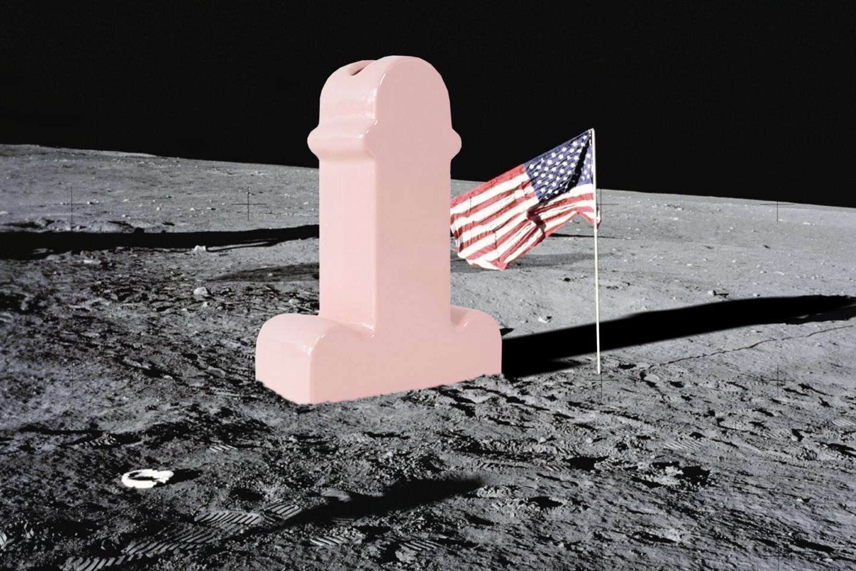 A proposito della conquista lunare, omaggio a Ettore Sottsass jn, 2018